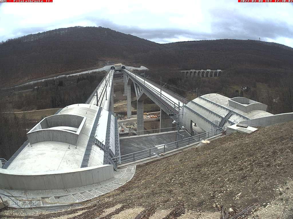Filstalbrücke 2 – Portal Steinbühltunnel
