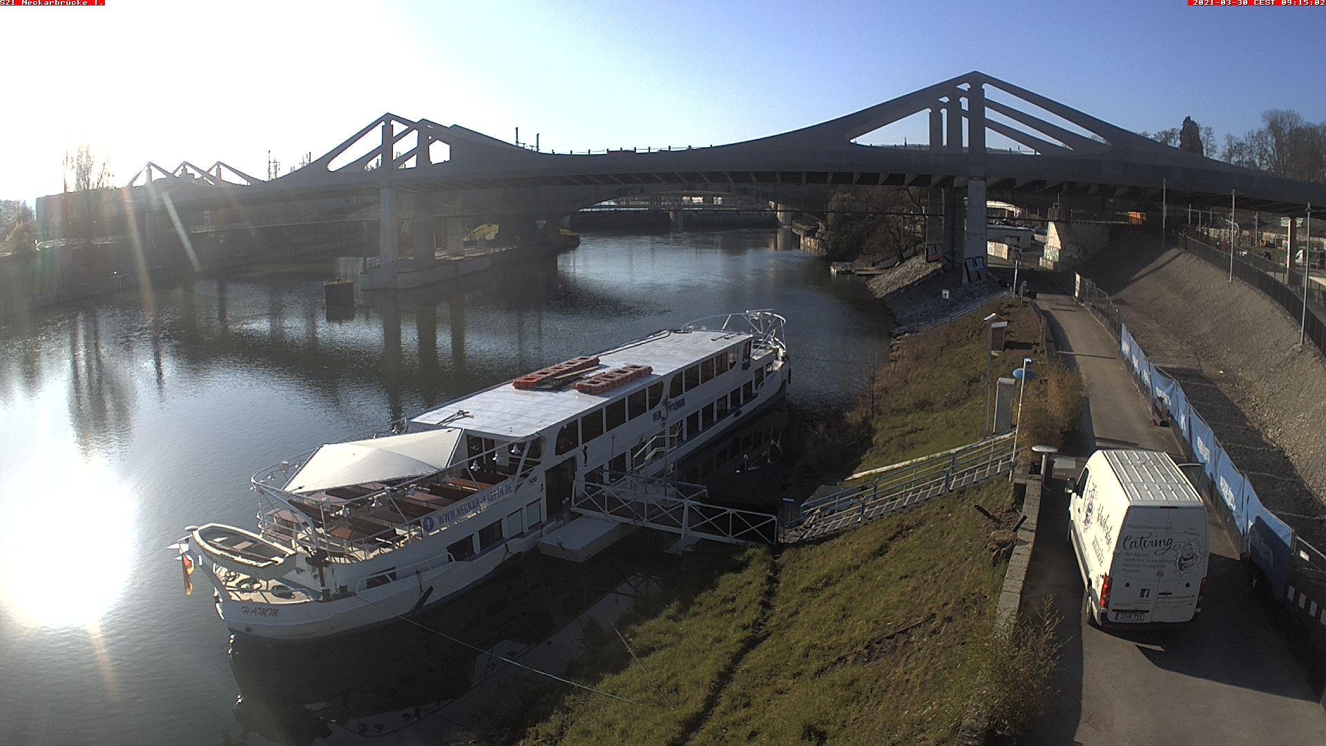 Stuttgart 21: Neckarbrücke