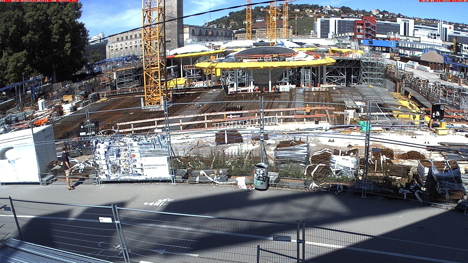 Stuttgart 21: Südkopf - Bau der neuen...