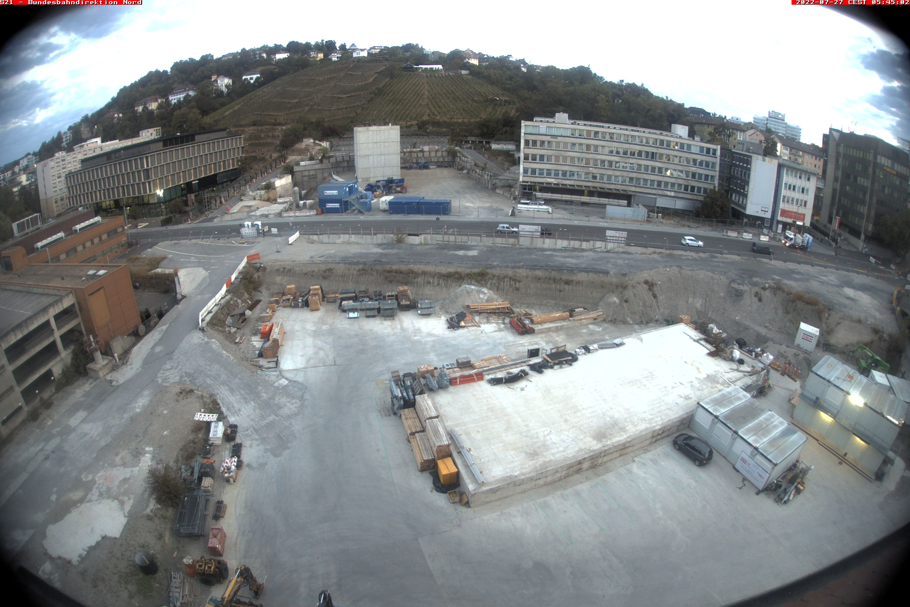 Stuttgart, Rail Construction Site, Nordkopf (Northern Head) 3