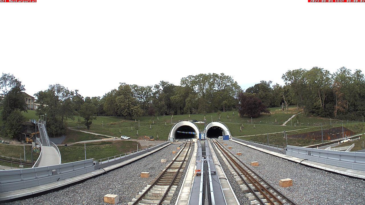 Neckarbrücke – Neckarportal Tunnel Bad Cannstatt