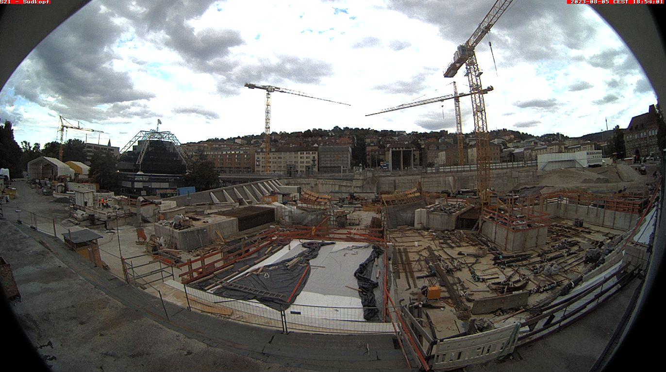 Neue Bahnsteighalle – Bauabschnitte 18-21